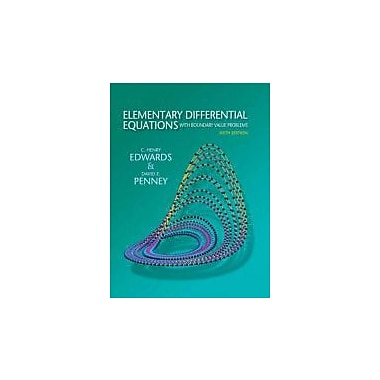 Elementary Differential Equations with Boundary Value Problems (6th Edition), New Book (9780136006138)