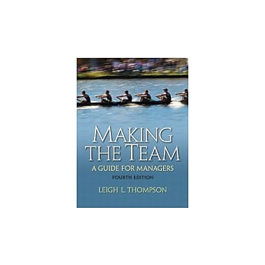 Making the Team (4th Edition), New Book (9780136090038)