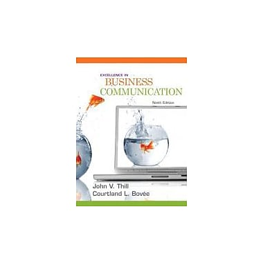 Excellence in Business Communication (9th Edition), Used Book (9780136103769)