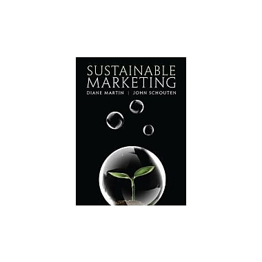 Sustainable Marketing, New Book (9780136117070)