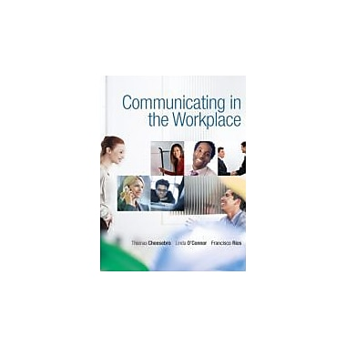 Communicating in the Workplace, Used Book (9780136136910)