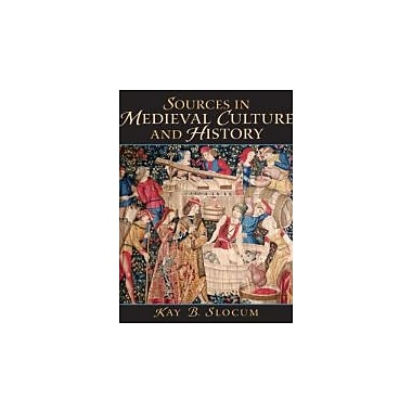 Sources in Medieval Culture and History, New Book (9780136157267)
