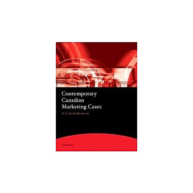 Contemporary Canadian Marketing Cases (4th Edition), New Book (9780138006228)