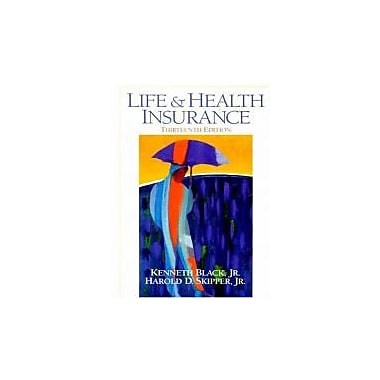 Life and Health Insurance, 13th Edition, Used Book (9780138912505)