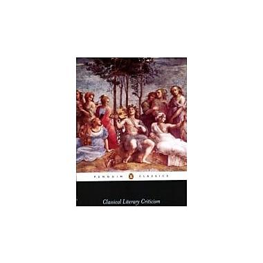 Classical Literary Criticism (Penguin Classics), Used Book (9780140446517)
