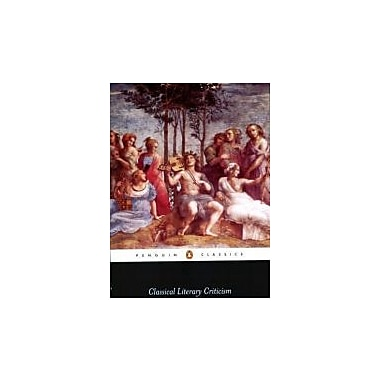 Classical Literary Criticism (Penguin Classics), New Book (9780140446517)
