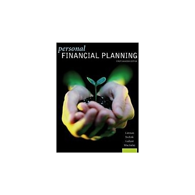 Personal Financial Planning (11th, 08) by Gitman, Lawrence J - Joehnk, Michael D [Hardcover (2007)], Used Book (9780176103378)