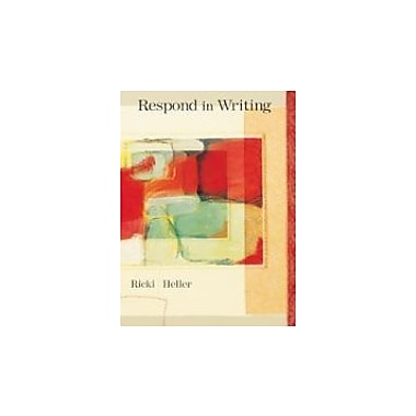 RESPOND IN WRITING