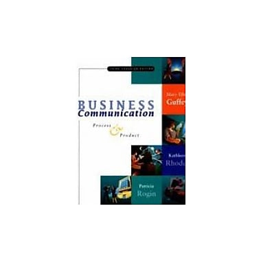 Business Communication: Process & Product, Used Book (9780176168803)