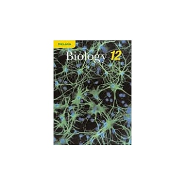 Nelson Biology 12 Student Text, New Book (9780176259877)