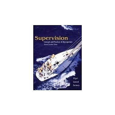 CDN ED Supervision: Concepts & Practices of Management, New Book (9780176406035)