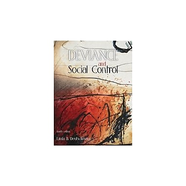 Title: DEVIANCE+SOCIAL CONTROL CANAD, Used Book (9780176406110)