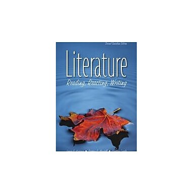 Literature (Candian Edition) (Reading, Reacting, Writing), Used Book (9780176407063)