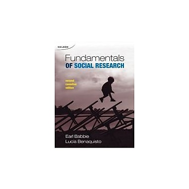 CDN ED Fundamentals of Social Research, New Book (9780176414542)
