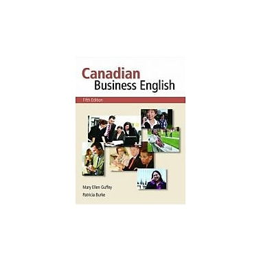 Canadian Business English, New Book (9780176440268)
