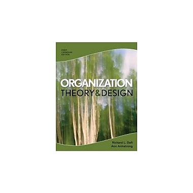 CDN ED Organization Theory and Design