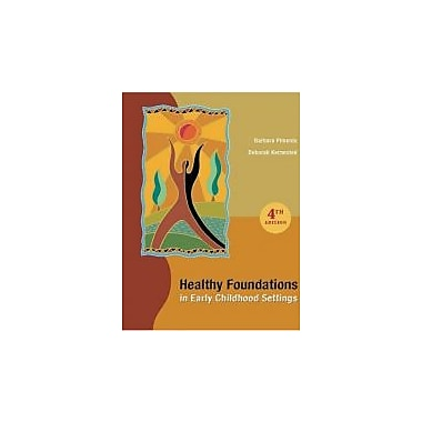 Healthy Foundations in Early Childhood Settings, New Book (9780176441135)