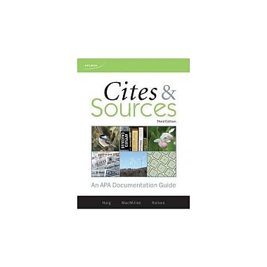 CITES+SOURCES, New Book (9780176473501)