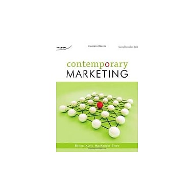 CDN ED Contemporary Marketing, New Book (9780176500030)