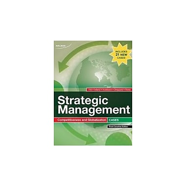 CDN ED Strategic Management Cases, New Book (9780176500825)