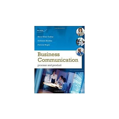 BUSINESS COMMUNICATION CANADI, New Book (9780176501594)
