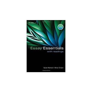 CDN ED Essay Essentials With Readings, New Book (9780176501877)