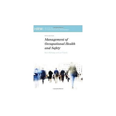 Mgt of Occupational Health Safety, Used Book (9780176502485)