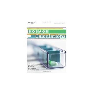 CDN ED Dosage Calculations, Used Book (9780176502591)