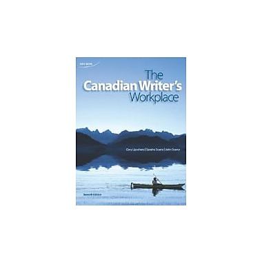 The Canadian Writer's Workplace, New Book (9780176503277)
