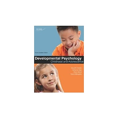 Developmental Psychology: Childhood and Adolescence by Shaffer, Dr. David R., Used Book (9780176503499)