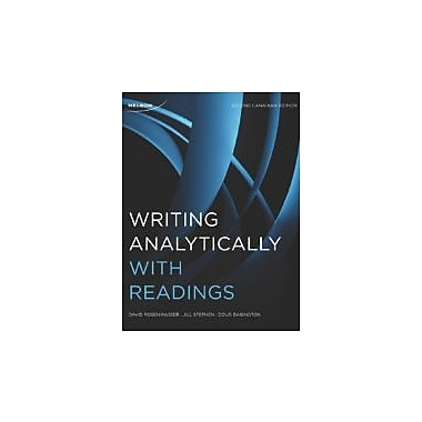 Writing Analytically with Readings, Used Book (9780176504465)