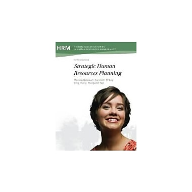Strategic Human Resources Planning, New Book (9780176506940)