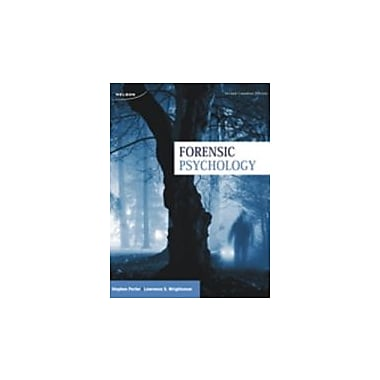 Forensic Psychology, New Book (9780176509361)