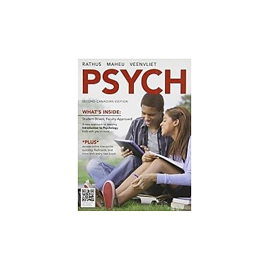 Psych, 2nd Canadian Edition, New Book (9780176555290)