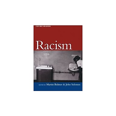 Racism (Oxford Readers), New Book (9780192893000)