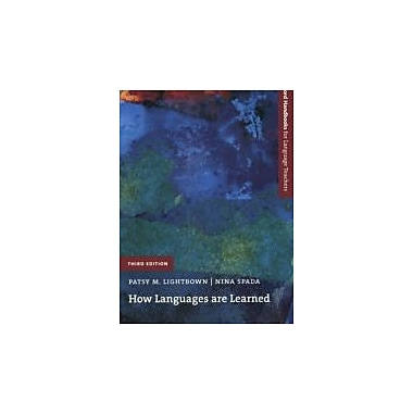 How Languages Are Learned (Oxford Handbooks for Language Teachers), New Book (9780194422246)