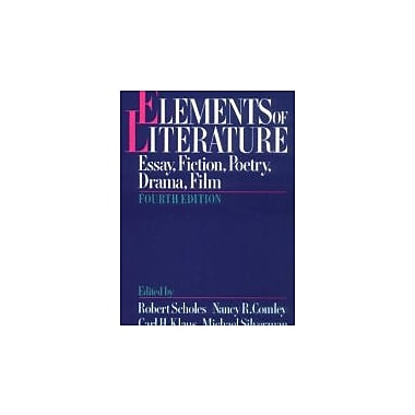 Elements of Literature: Essay, Fiction, Poetry, Drama, Film, New Book (9780195060256)
