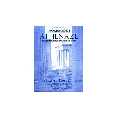 Athenaze: An Introduction to Ancient Greek (Workbook I), Used Book (9780195149548)