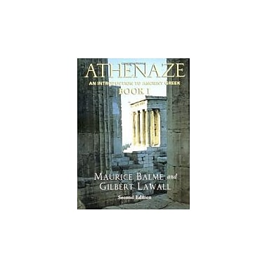 Athenaze: An Introduction to Ancient Greek Book I, Used Book (9780195149562)