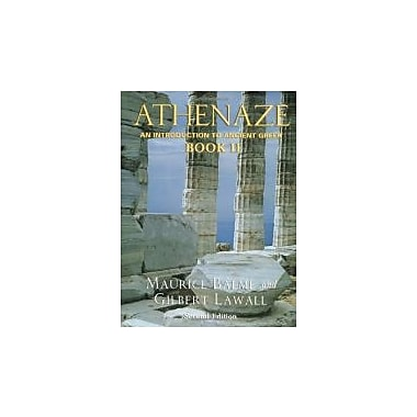 Athenaze: An Introduction to Ancient Greek, Vol. 2, New Book (9780195149579)