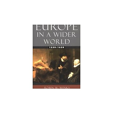Europe in a Wider World, 1350-1650, New Book (9780195154481)