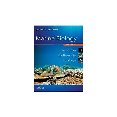 Marine Biology: Function, Biodiversity, Ecology, New Book (9780195326949)