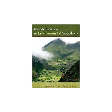 Twenty Lessons in Environmental Sociology, New Book (9780195371123)