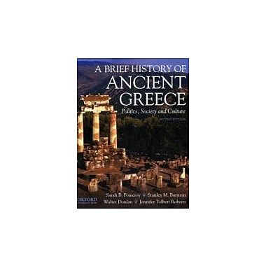 A Brief History of Ancient Greece: Politics, Society, and Culture, New Book (9780195372359)
