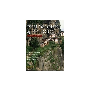 Philosophy of Religion: Selected Readings, New Book (9780195393590)