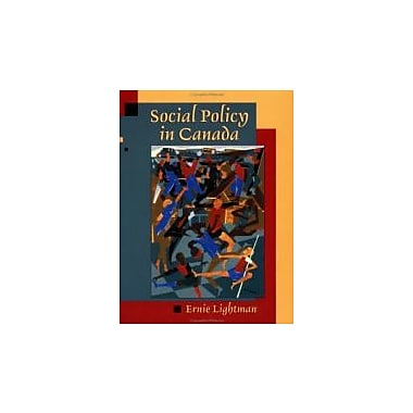 Social Policy in Canada, New Book (9780195416480)
