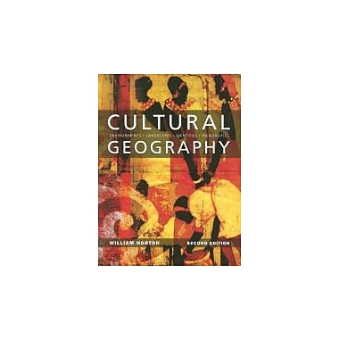 Cultural Geography, New Book (9780195419221)