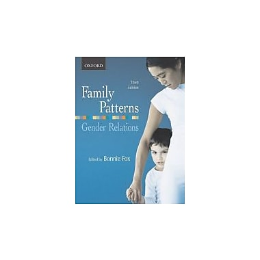 Family Patterns, Gender Relations, Used Book, (195424891)