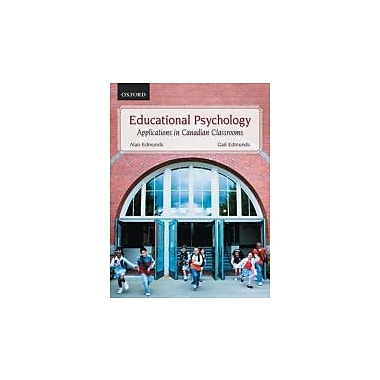 Educational Psychology: Applications in Canadian Classrooms, New Book (9780195428070)