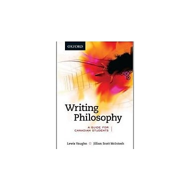 Writing Philosophy: A Guide for Canadian Students, Used Book (9780195430547)